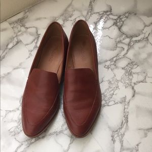 Madewell brown loafers in size 8 worn once